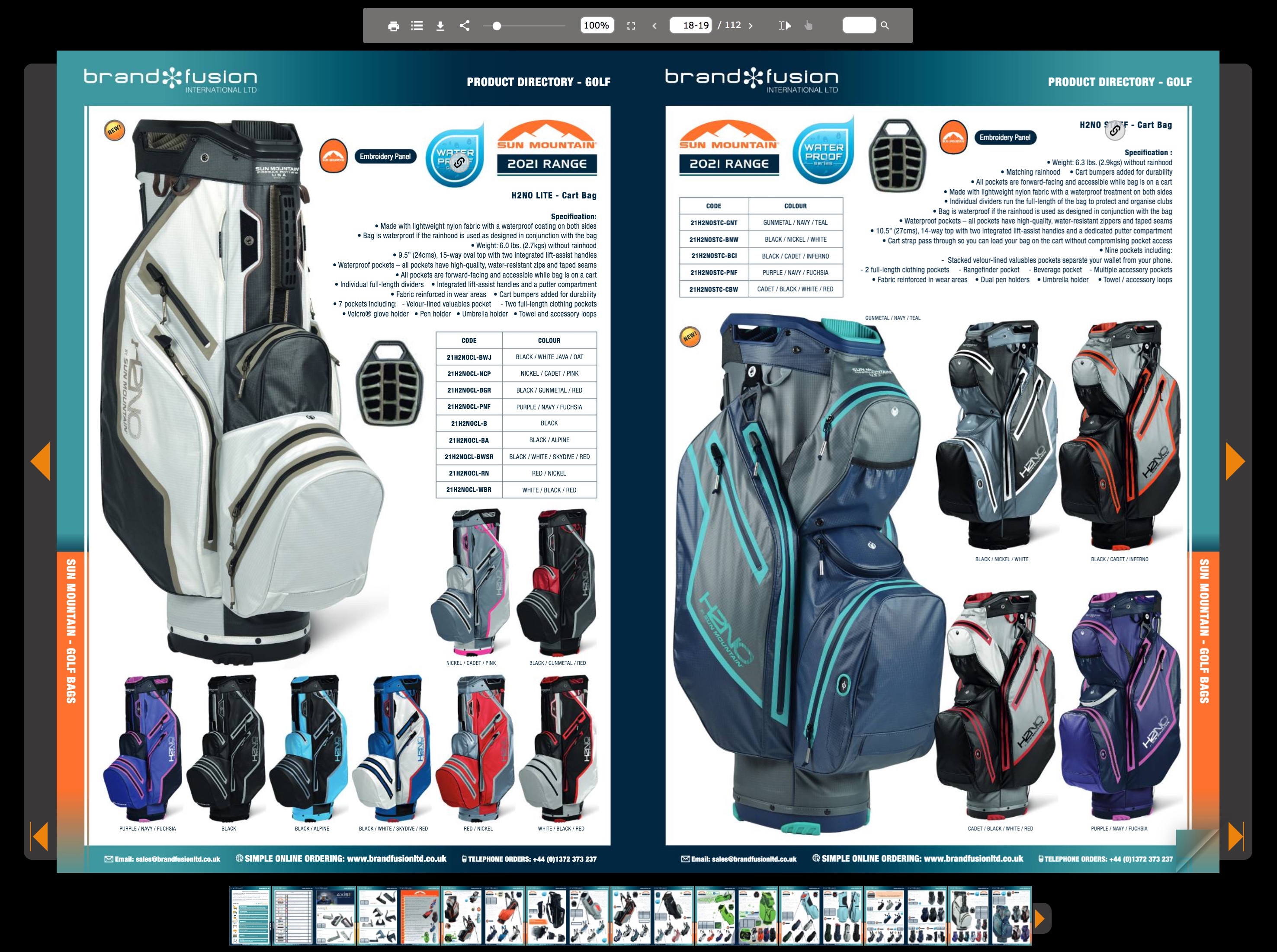 Browse the Brand Fusion digital brochure