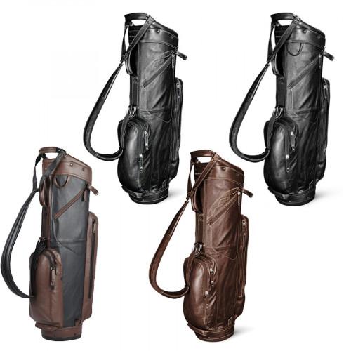 Sun Mountain Leather Cart Bags