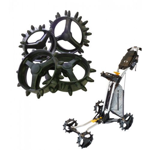 Hedgehog Wheels - New Microcart Set