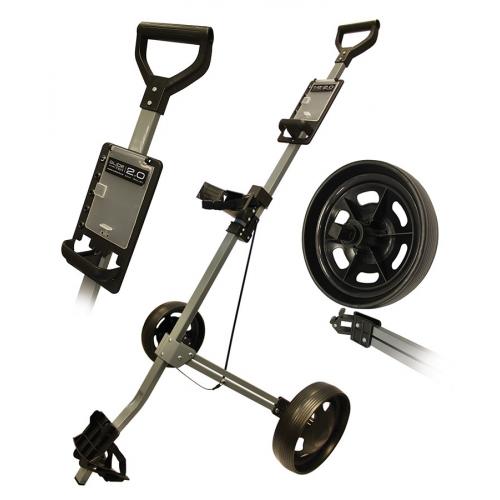 Glide-Tek 2.0 Two Wheel Aluminium Cart