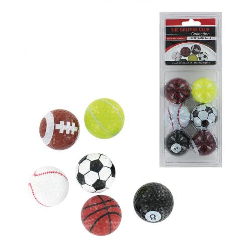 Novelty Golf Balls