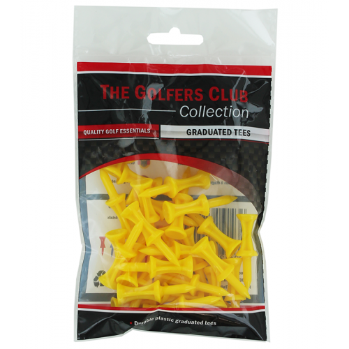 Step Tees Yellow Multipack ( 25 Packs X 30 Pcs)