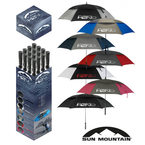 Sun Mountain H2NO Box 16 Umbrellas -New