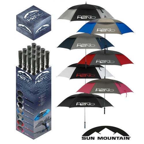 Sun Mountain H2NO Box 16 Umbrellas -New