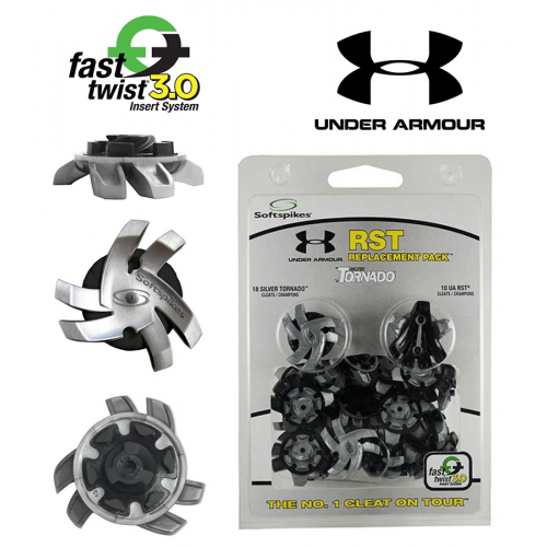 Champ Silver Tornado Ft3 Under Armour Co Branded Cleats
