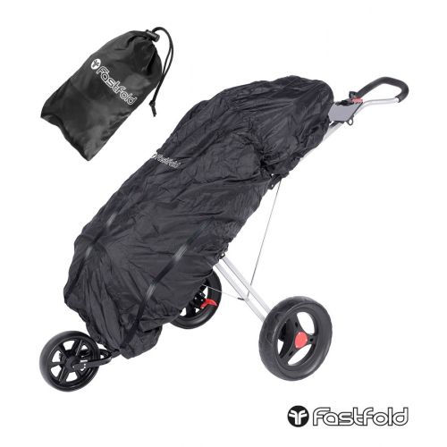 Fast Fold Raincover Black With Black Zippers