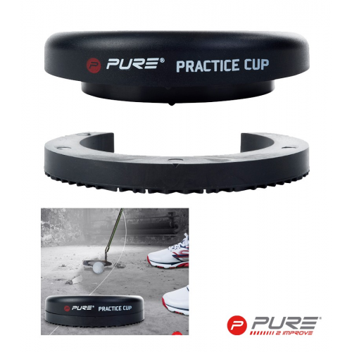 Pure2Improve Practice Cup Black