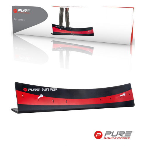 Pure2Improve Putt Path Black/Red
