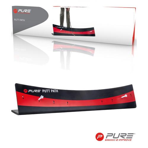 Pure2Improve Putt Path Black/Red