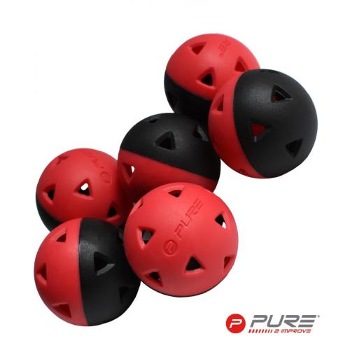 Pure2Improve Golf Impact Balls Set Of 6