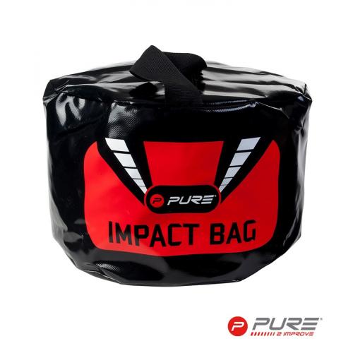 Pure2Improve Impact Bag Black/Red