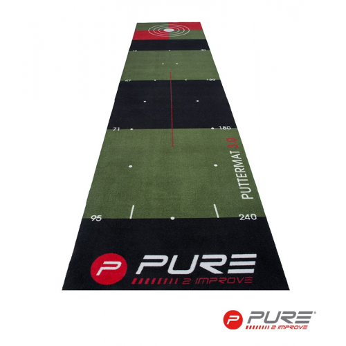 Pure2Improve Golf Putting Mat 65 X 300cm