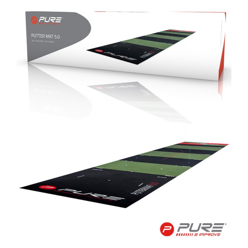 Pure2Improve Golf Putting Mat 65 X 500cm
