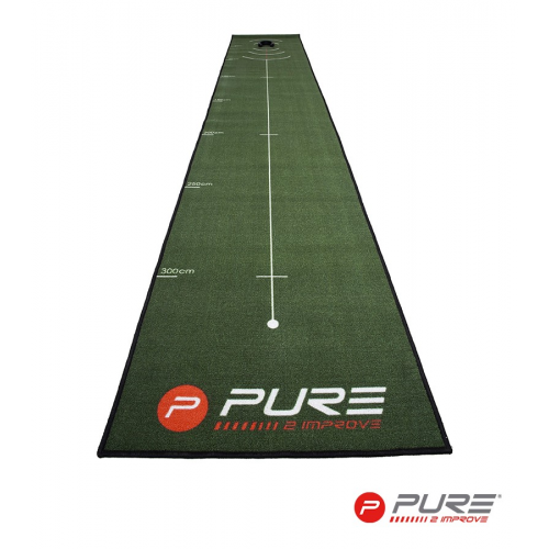 Pure2Improve Putting Mat 66cm X 400cm