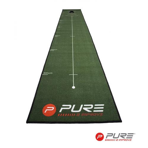 Pure2Improve Putting Mat 66cm X 400cm