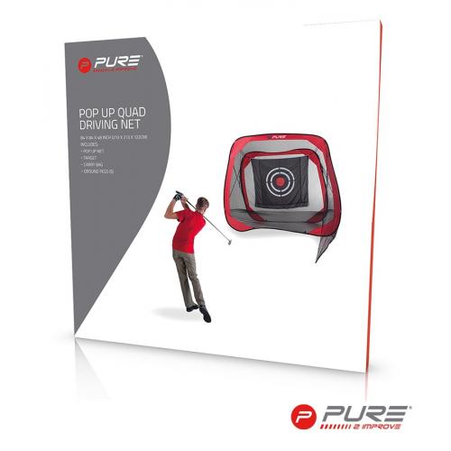 Pure2Improve Golf Square Practice Net