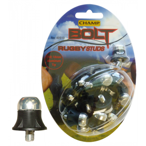 Bolt Aluminium Tip Rugby Studs 18mm