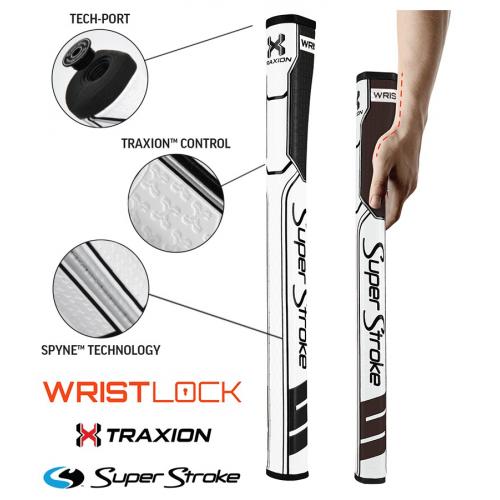 Superstroke Traxion Wrist Lock