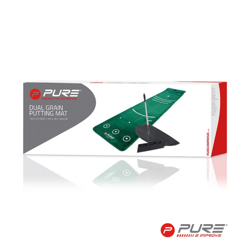 Pure2Improve Putting Mat With Broom