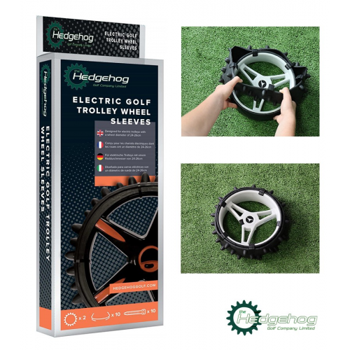 Hedgehog Electric Trolley Three Row Sleeve Kit (2X Sleeves And Clips/Cable Ties)