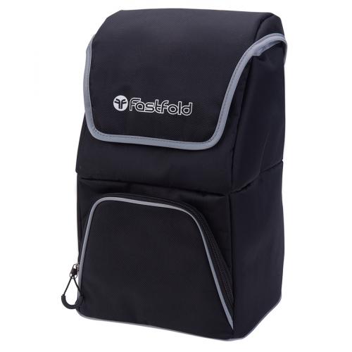 Fast Fold Cooler Bag Black/Silver
