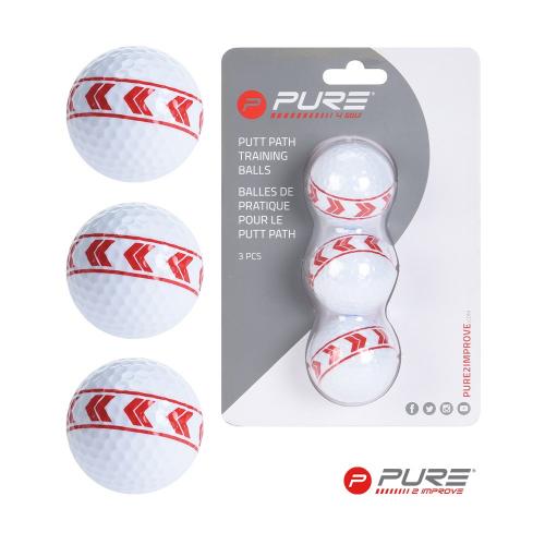 Pure2Improve Align Golf Ball Set Of 3