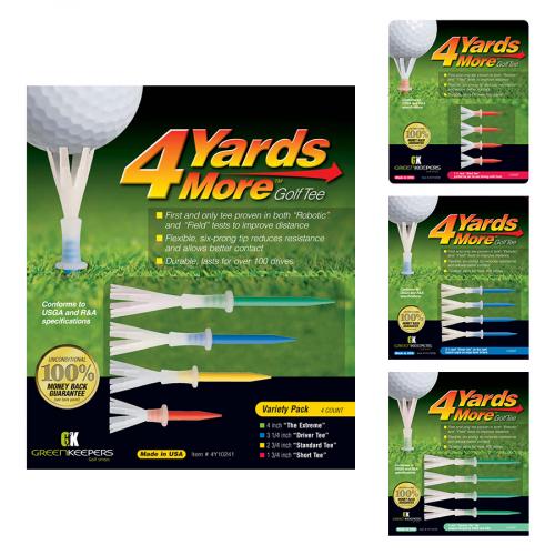 Golf Tee 4YDS More