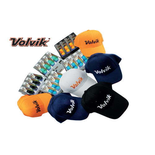 Volvik 8 Dz Special Pack With 6 Free Caps (Worth £107.94 RRP)